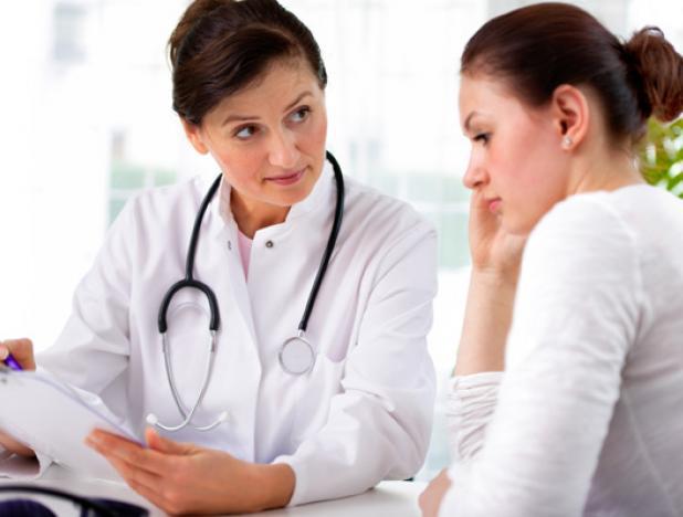 Первый осмотр у гинеколога