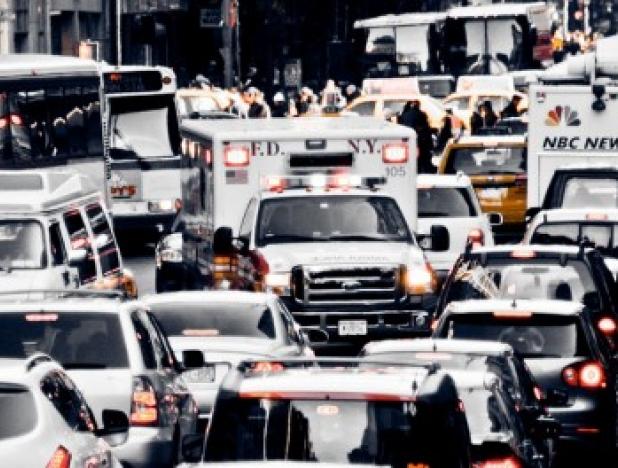 стресс у водителя могут вызвать поведение пассажиров и пешеходов